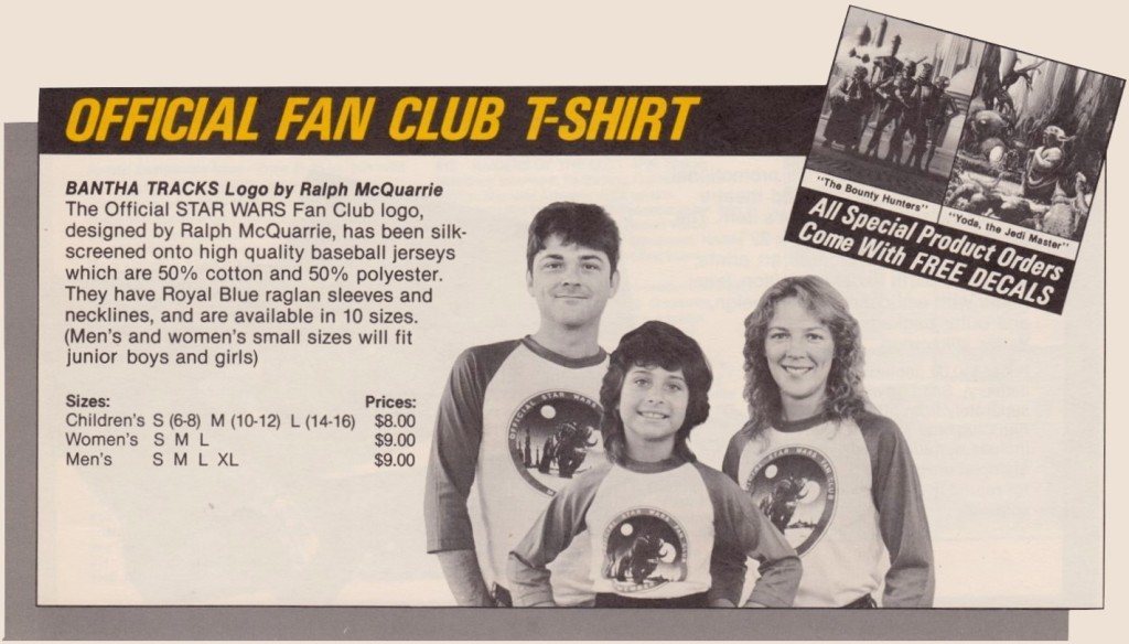 Star Wars Fan Club T-shirt