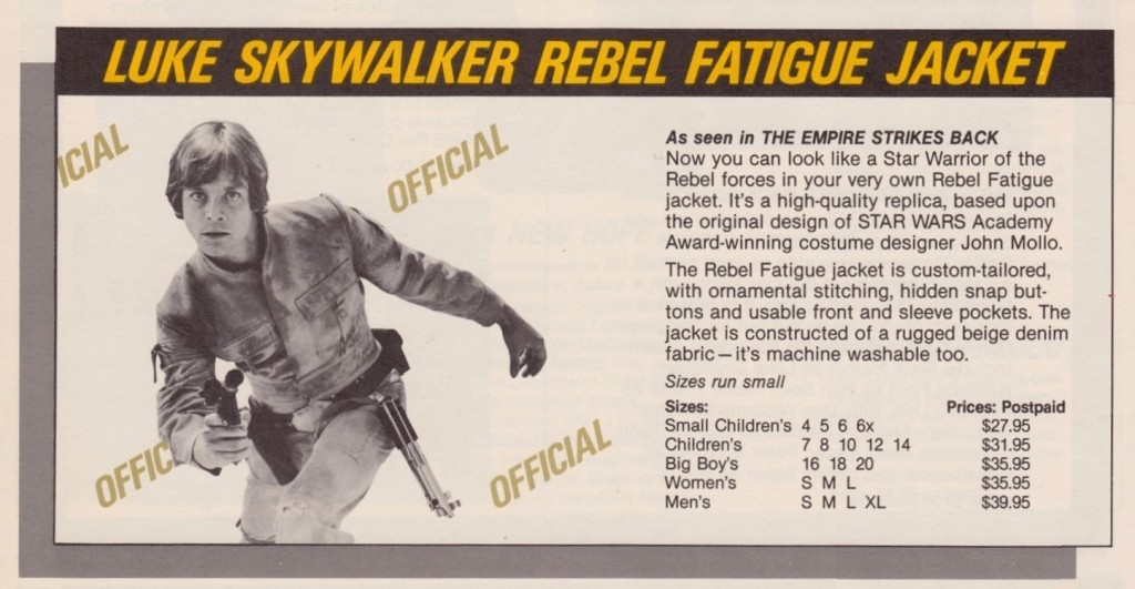 Luke Skywalker Rebel Fatigue Jacket