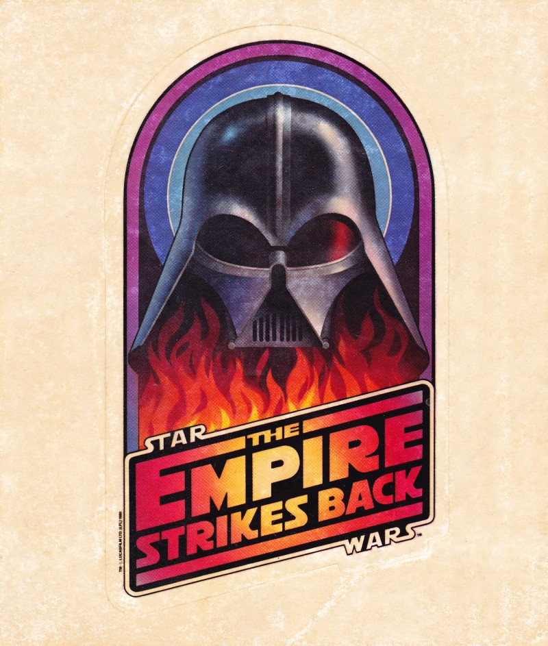 Star Wars The Empire Strikes Back decal
