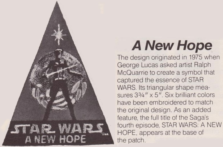 Star Wars: A New Hope Embroidered Patch