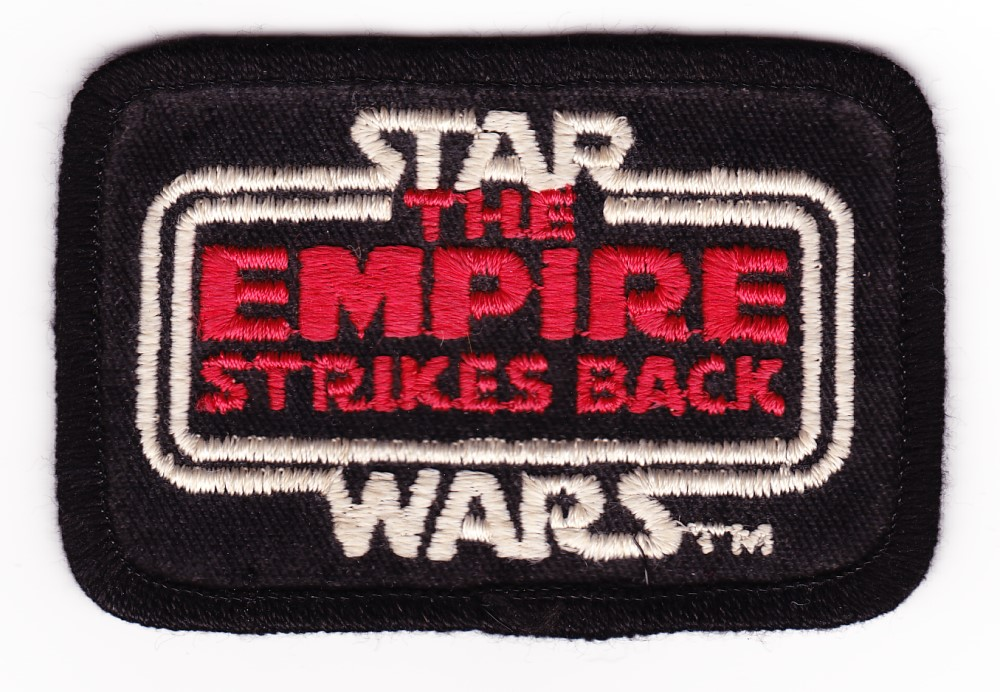 Empire Strikes Back Logo Patch