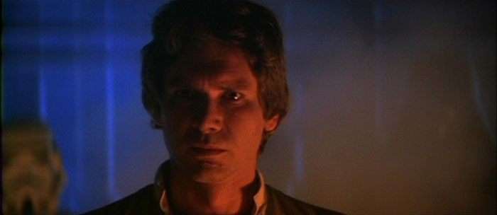 Han Solo in Star Wars: The Empire Strikes Back