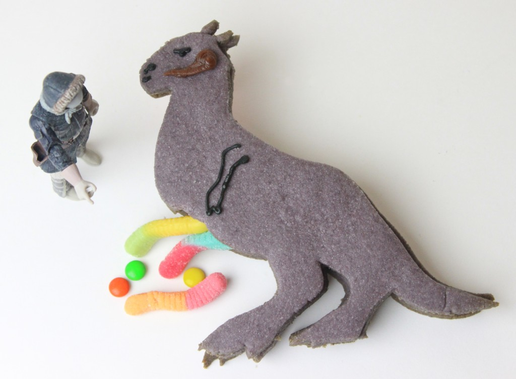Completed tauntaun cookie