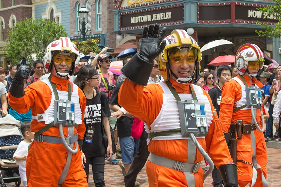 Hong Kong Fan Parade - Rebel pilots