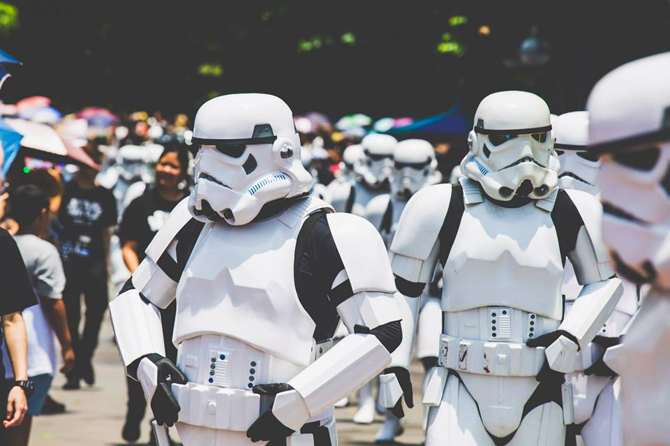 Hong Kong Fan Parade - stormtroopers