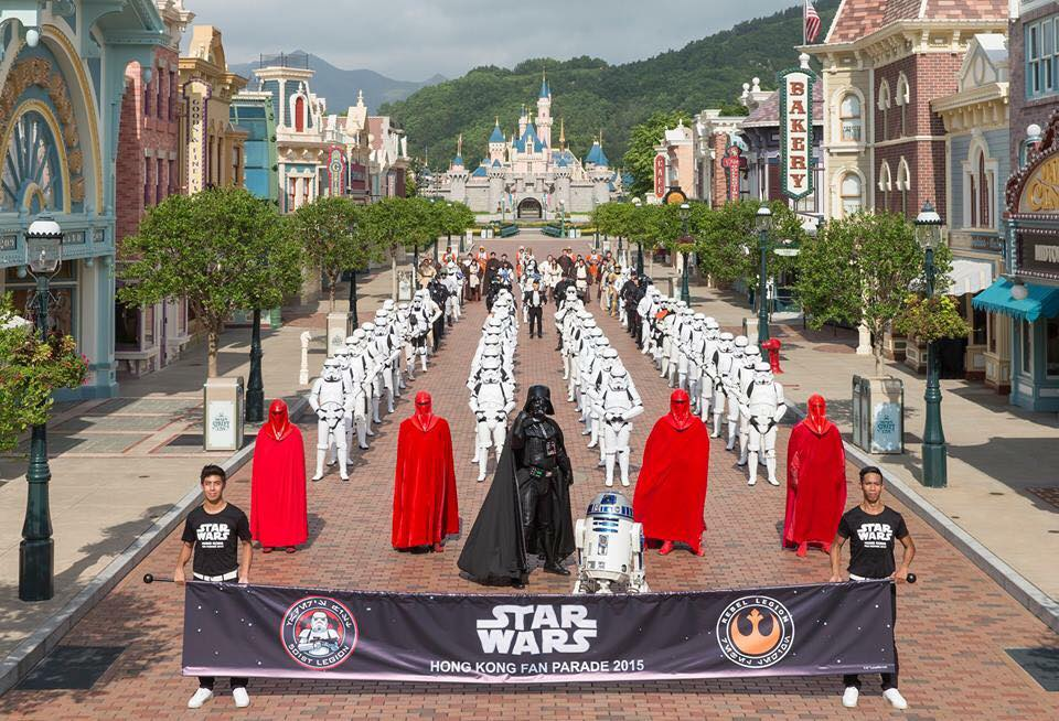 Star Wars Hong Kong Fan Parade