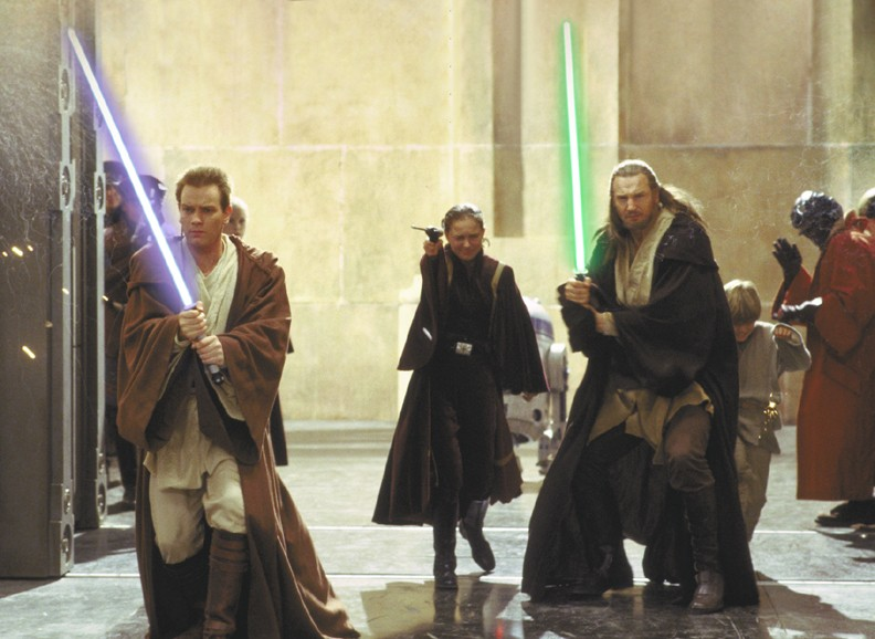 The Phantom Menace - Obi-Wan, Padme, Qui-Gon