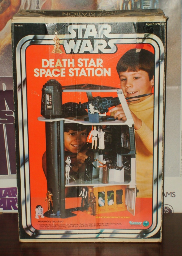 Death Star Space Station box