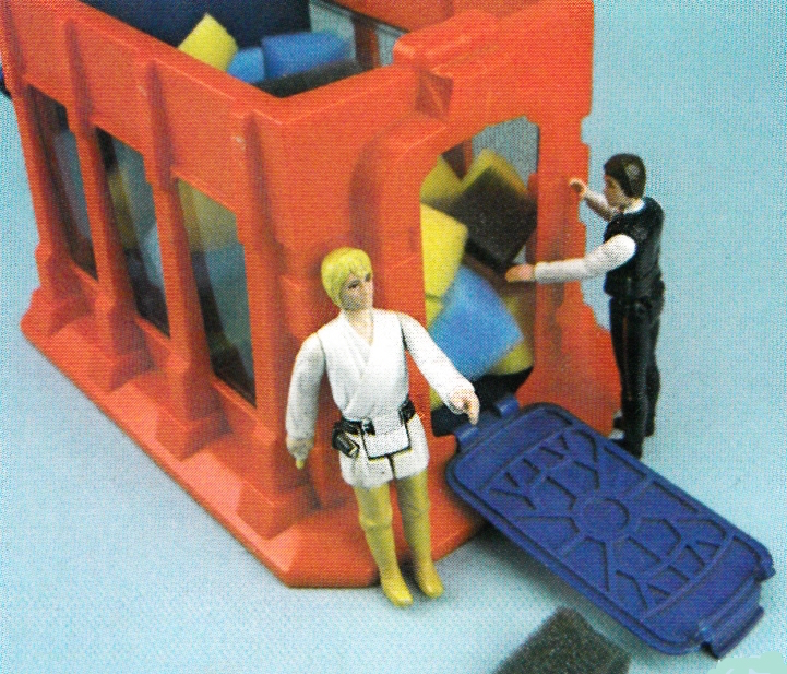 Death Star Playset Trash Compactor