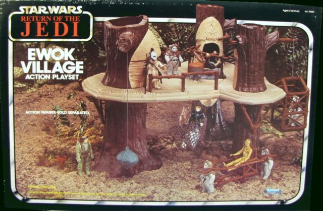 Return of the Jedi - Ewok Village Playset