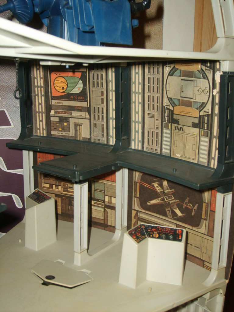 Kenner Death Star playset - cardboard walls