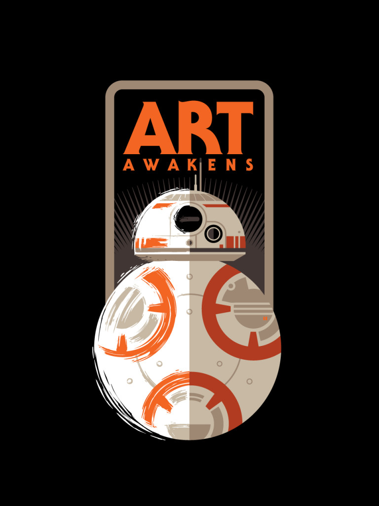 Star Wars: Art Awakens Logo
