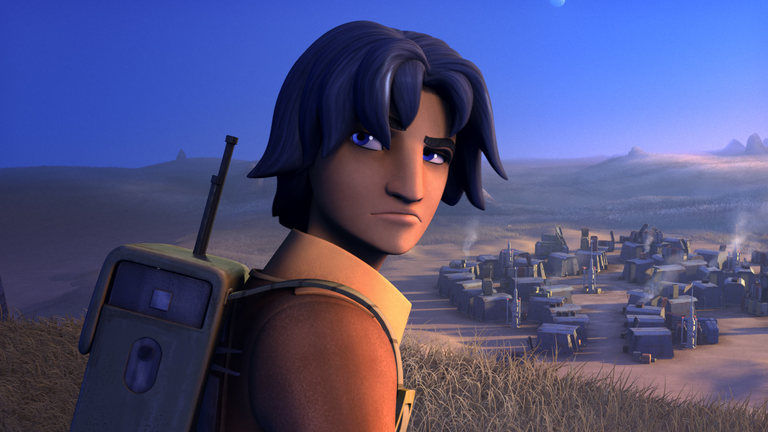 Ezra Bridger in Star Wars Rebels