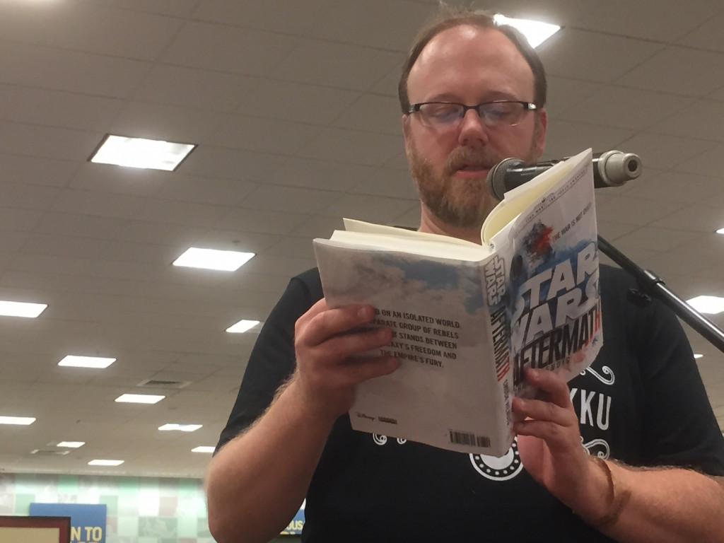 Chuck Wendig reads Star Wars: Aftermath