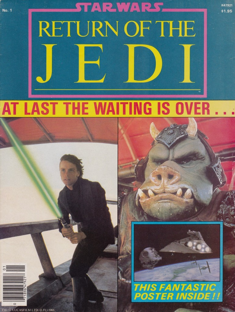 Return of the Jedi magazine cover