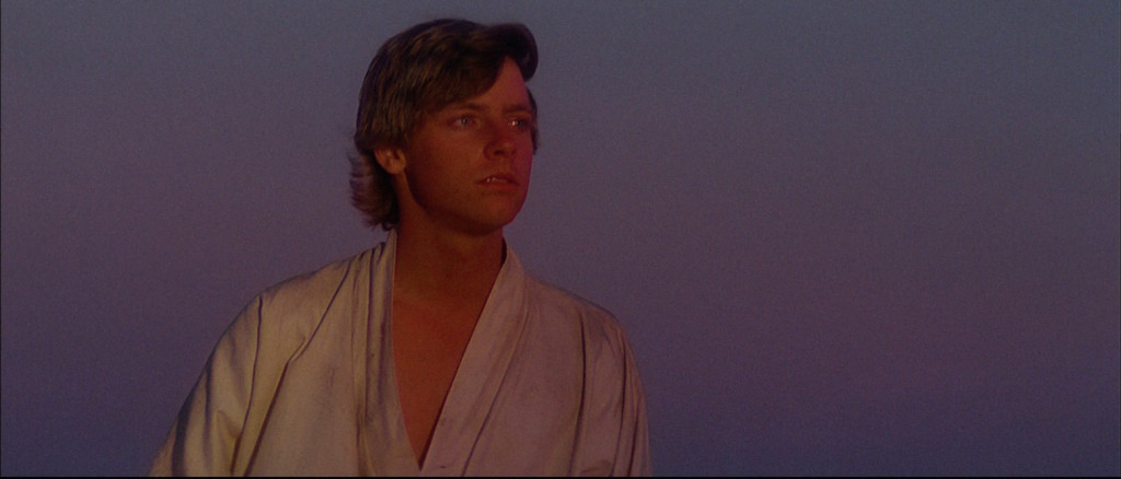 Luke Skywalker on Tatooine
