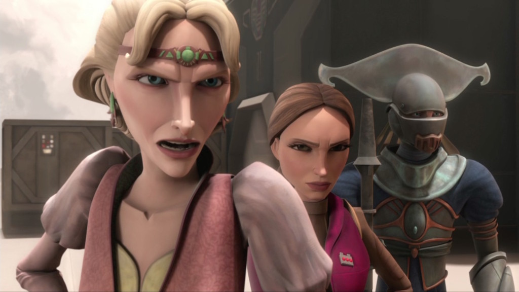 Satine and Padme from Corruption