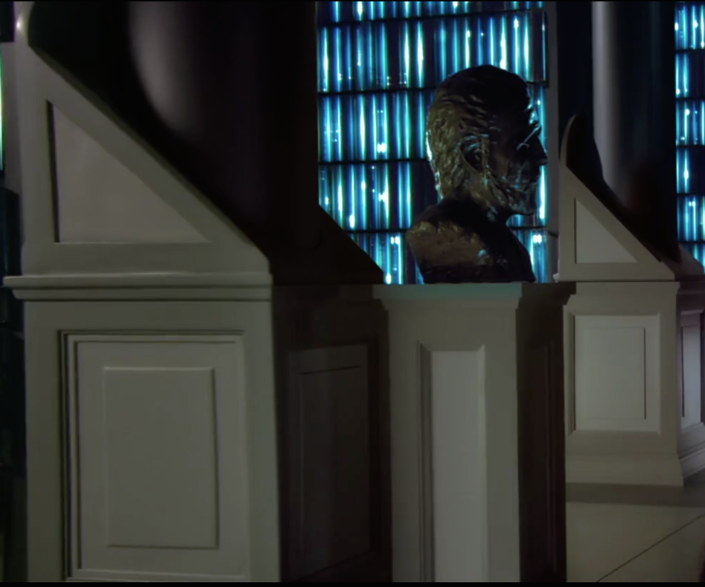 Count Dooku bust in Attack of the Clones
