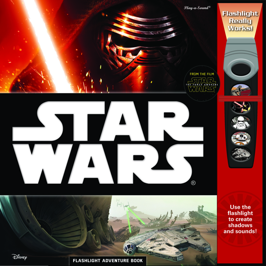 Star Wars: The Force Awakens Flashlight Adventure Book