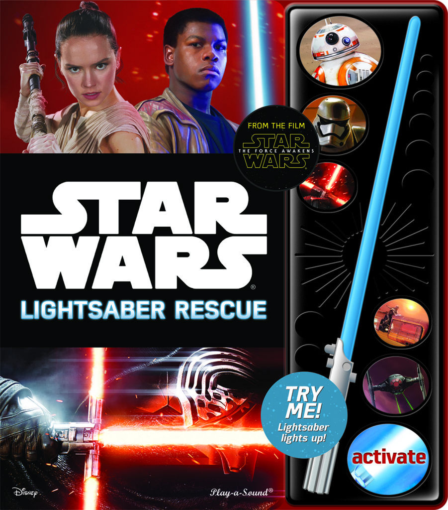 Star Wars: The Force Awakens Lightsaber rescue