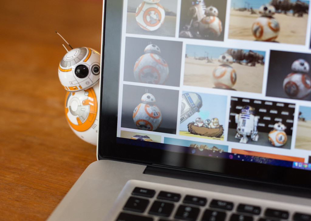 Sphero BB-8 on computer
