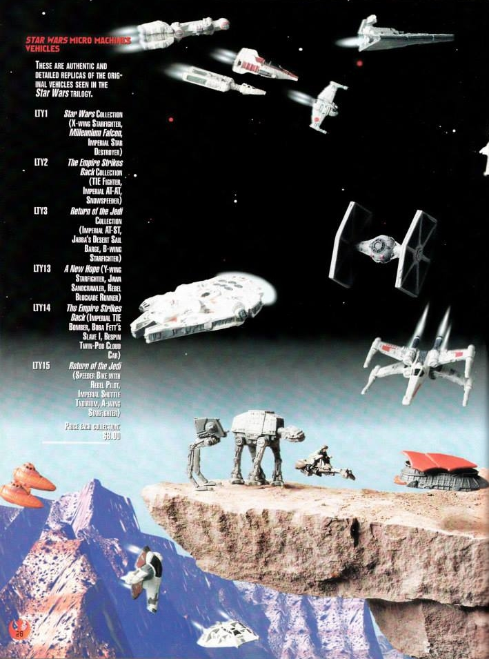 Star Wars Micro Machines checklist