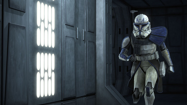 Captain Rex in Star Wars: The Clone Wars