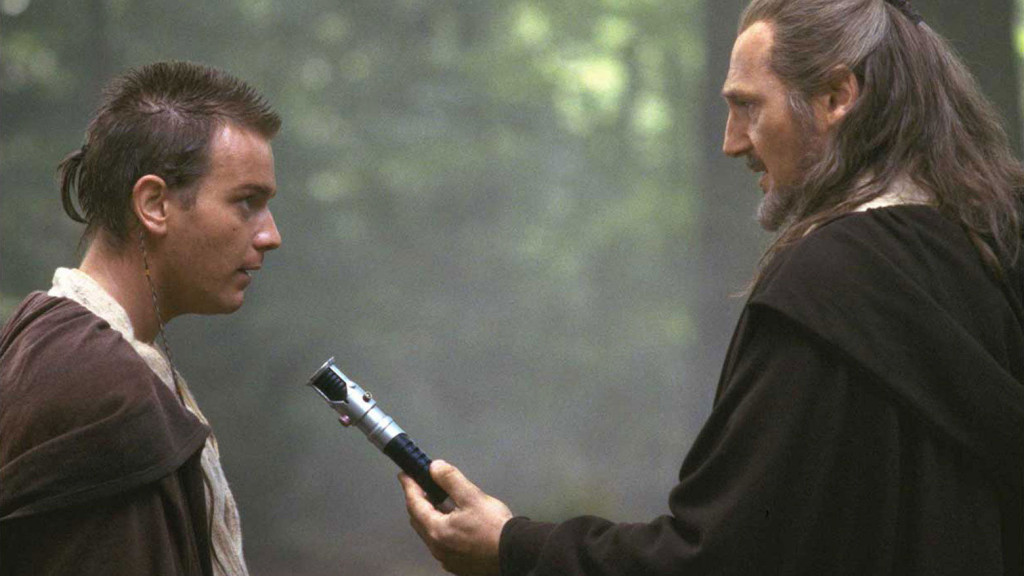 Obi-Wan Kenobi and Qui-Gon Jinn in The Phantom Menace