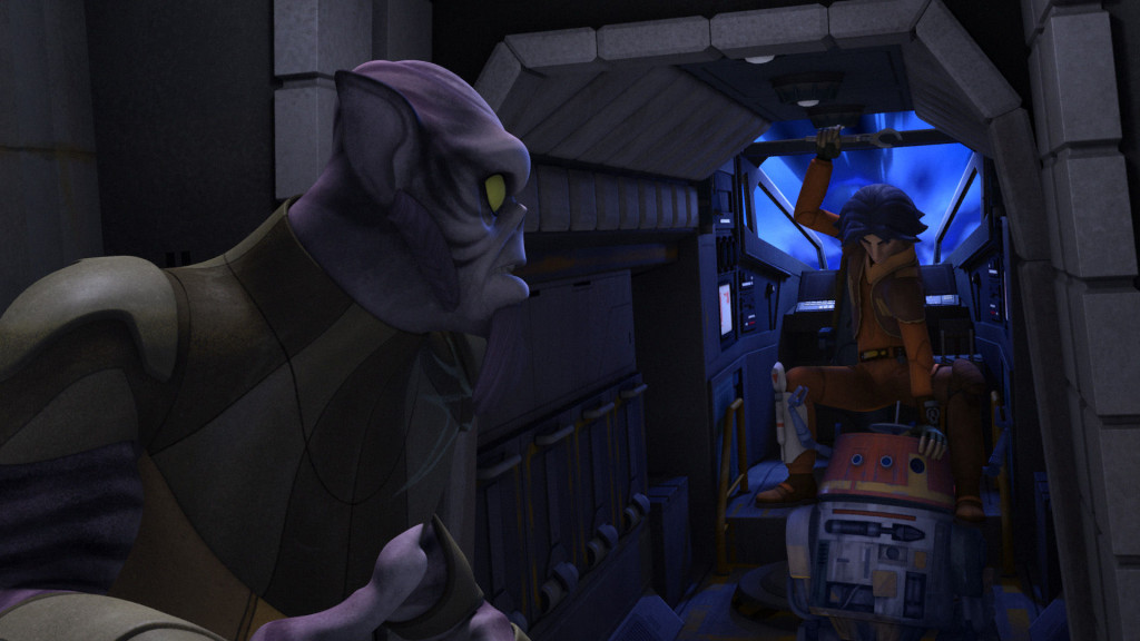 Zeb Orrelios and Ezra Bridger
