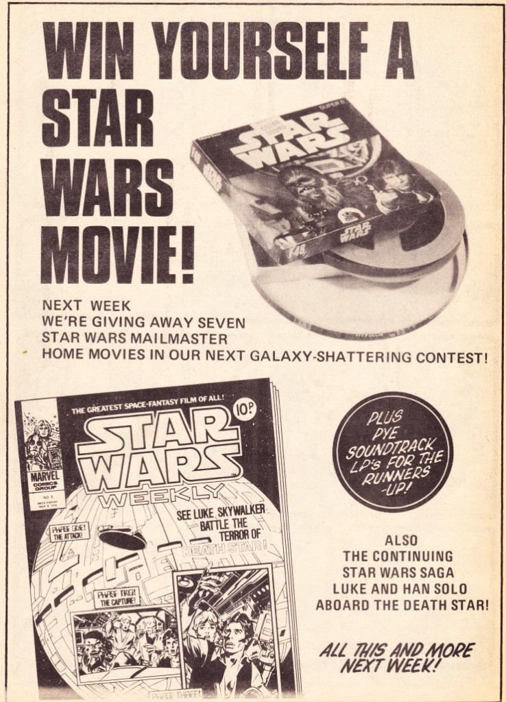 Star Wars Weekly - contest