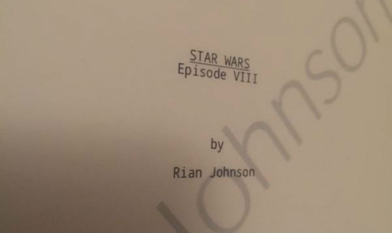 Star Wars Episode VIII script