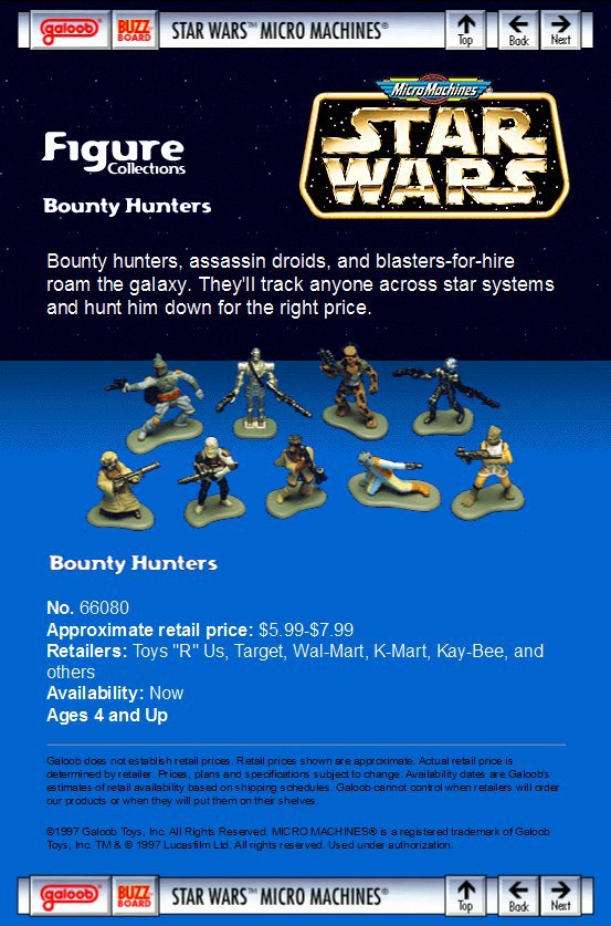 Star Wars Micro Machines figures