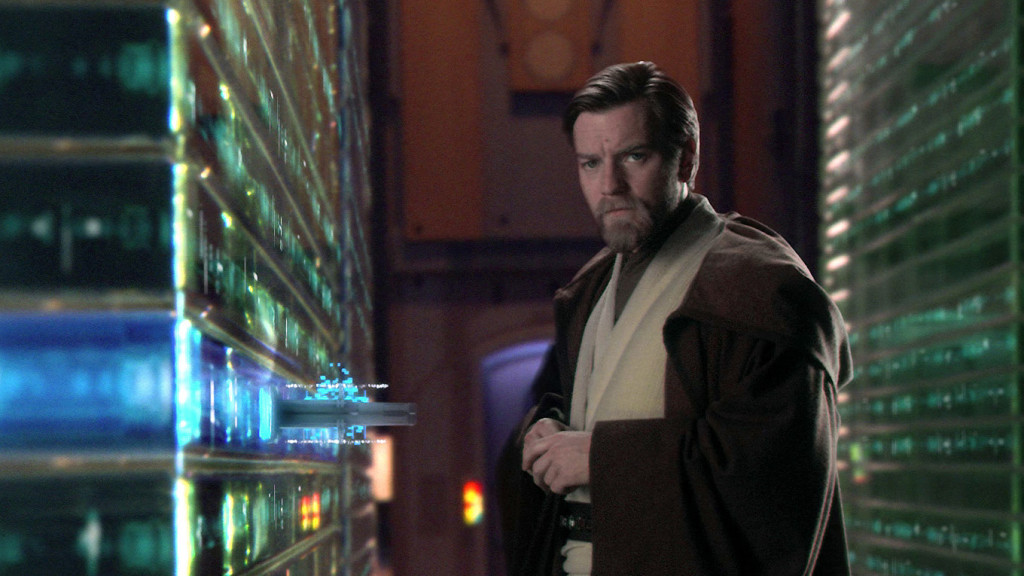 Obi-Wan at Jedi Archives