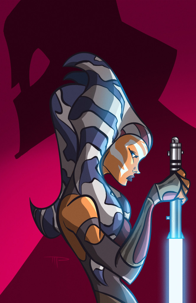 Ahsoka Tano by Michael Pasquale - Star Wars Rebels Season Two Fan Art Contest
