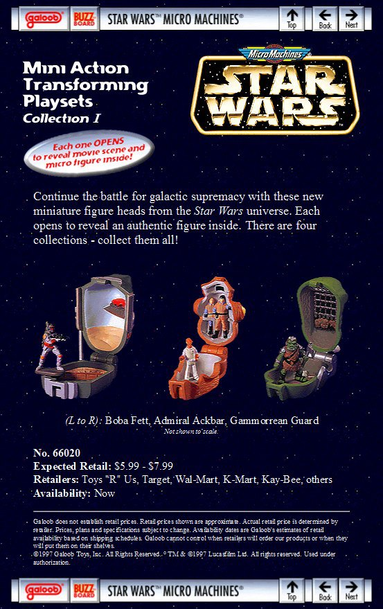Mini-Head Star Wars Micro Machines