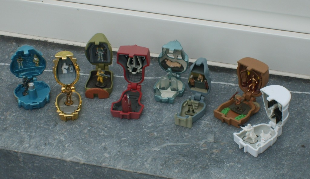 Star Wars Micro Machines Mini Heads