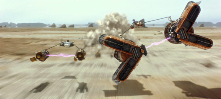 The Phantom Menace - Podracing on Tatooine