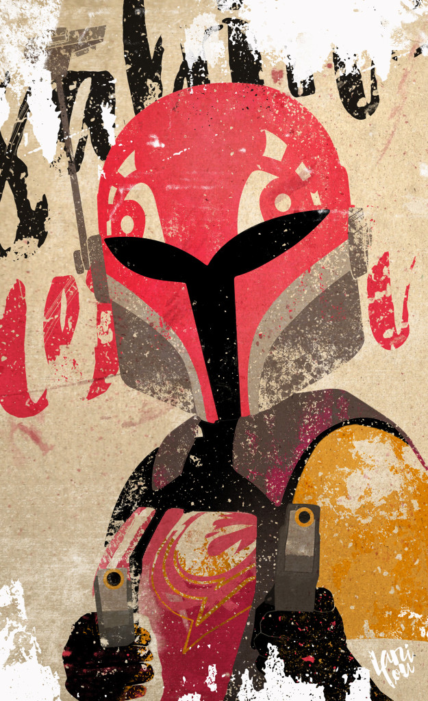 Sabine by Scott Anderson - Star Wars Rebels Season Two Fan Art Contest