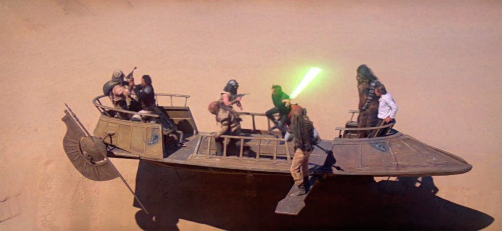 Return of the Jedi - Sarlacc battle