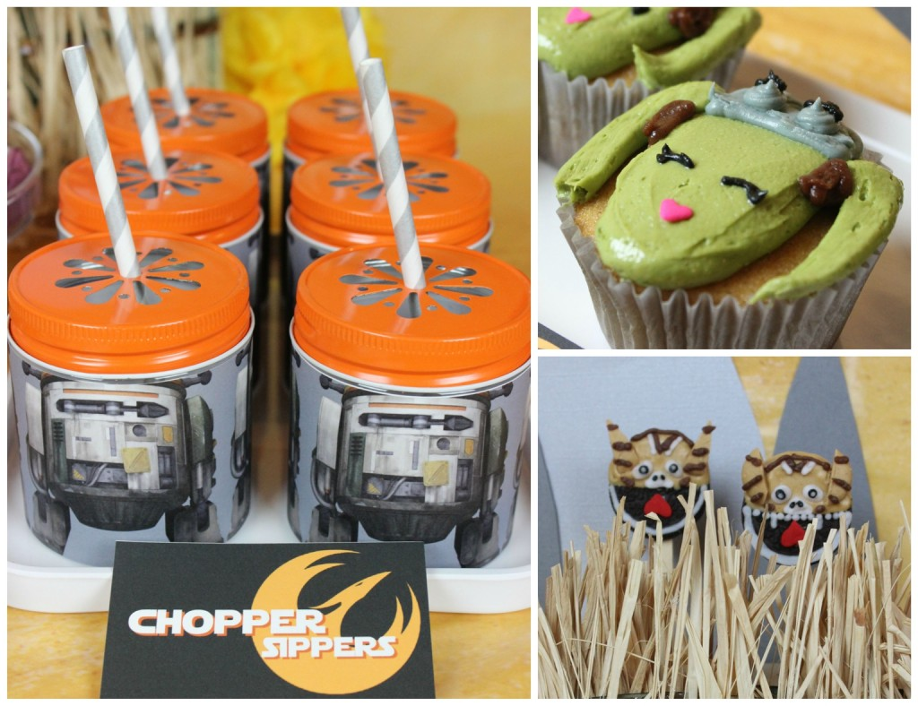 Chopper Sippers, Hera Cupcakes, Oreo Loth-Cats