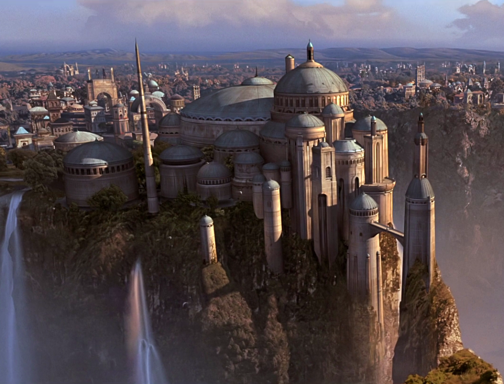 The Phantom Menace - Theed royal palace