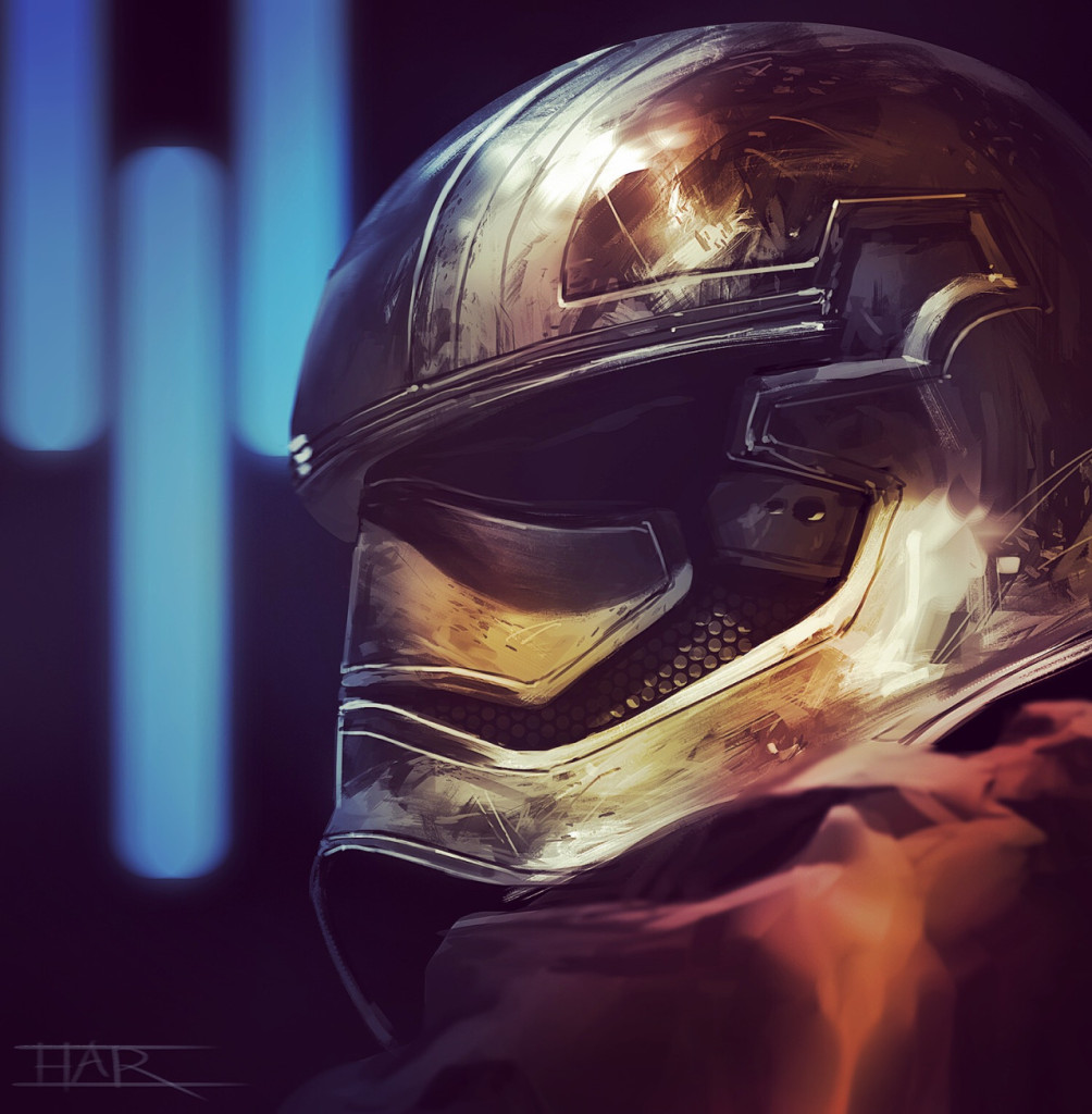 Art Awakens - Captain Phasma by Robin H.