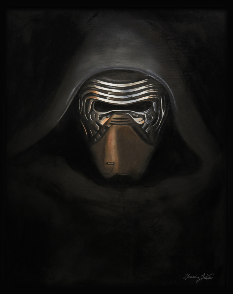 Art Awakens - Kylo Ren by Kevin L.