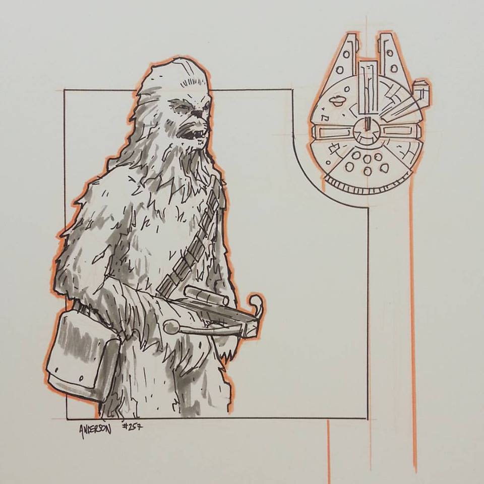 300 Days of Star Wars - Anderson Chewbacca