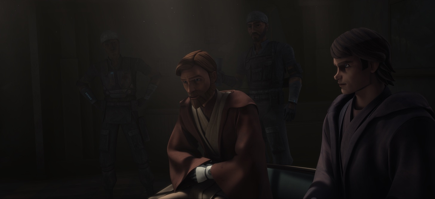 Clone Wars - Front Runners Anakin and ObiWan