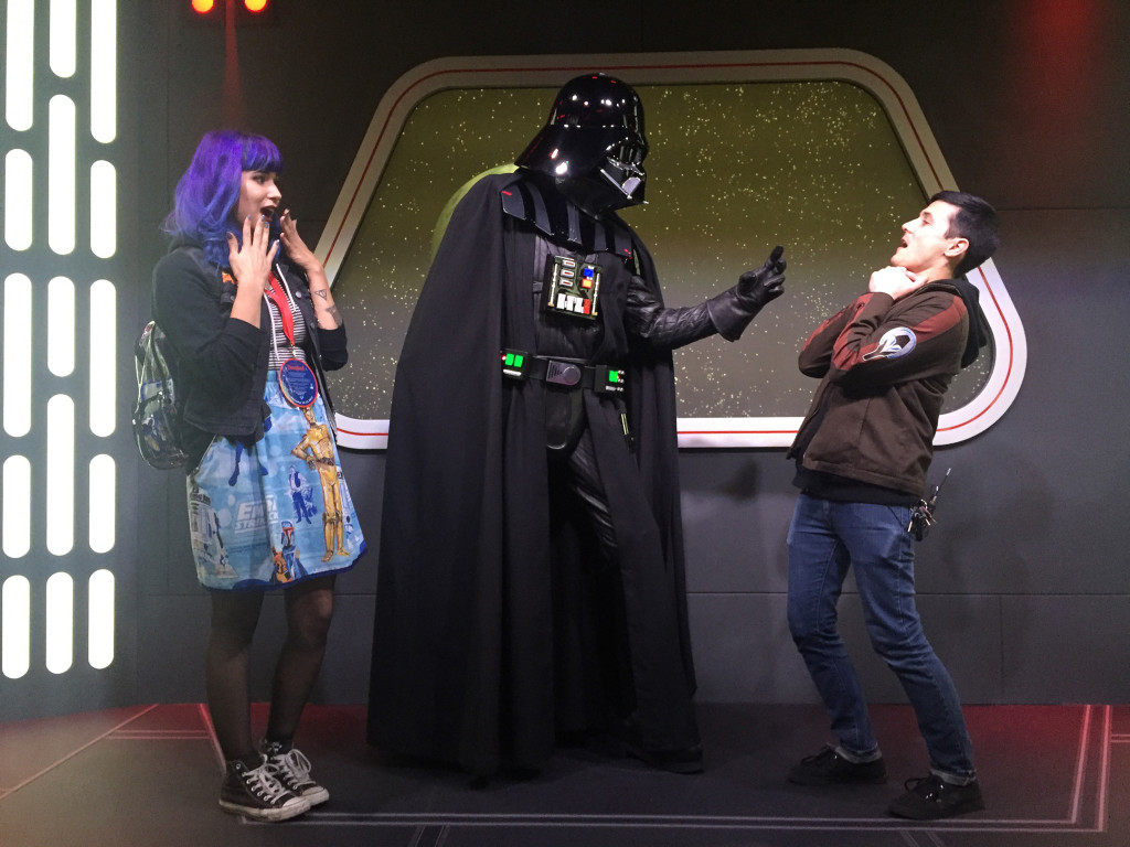 Darth Vader at Launch Bay