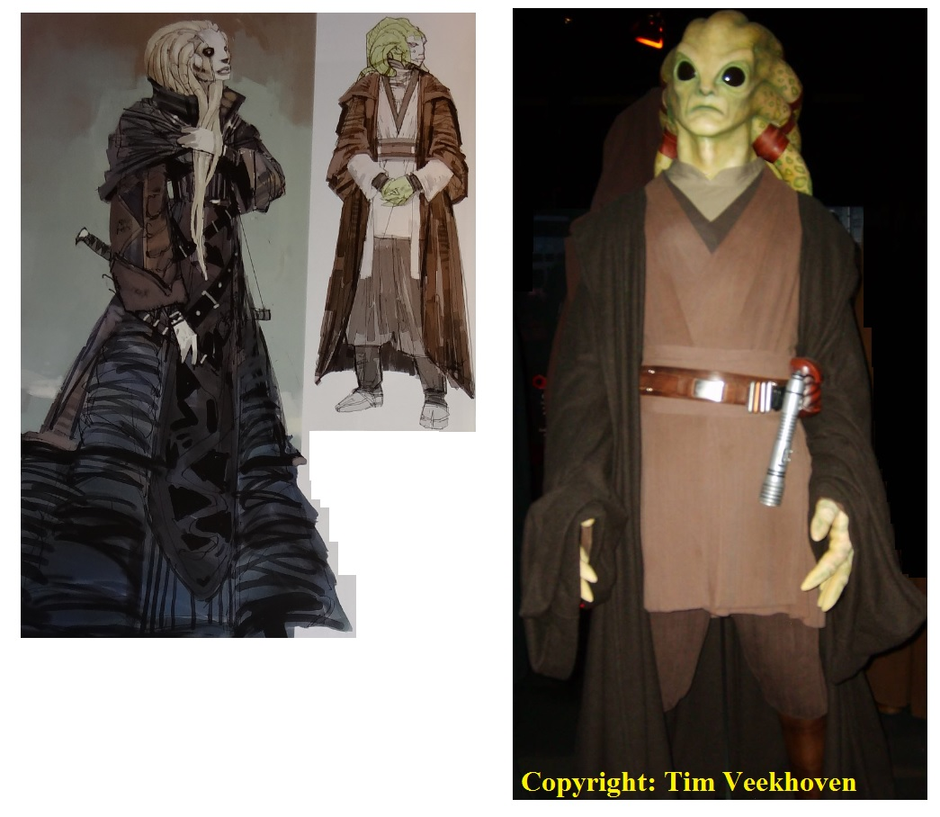 Kit Fisto Concept Designs and Costume