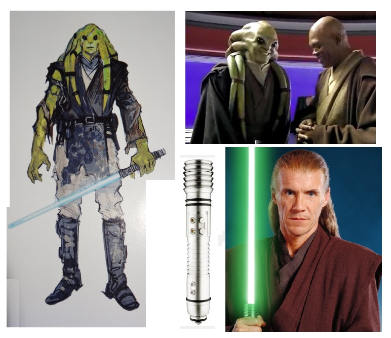 Kit Fisto From Concept To Screen Starwars Com
