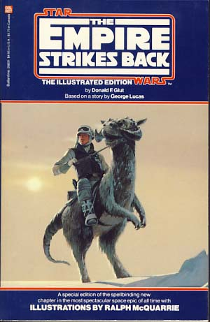 McQuarrie - Empire Strikes Back Cover with Luke on Tauntaun