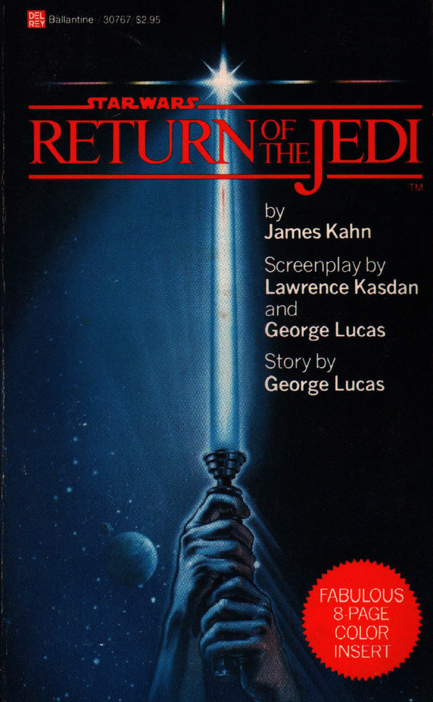 McQuarrie - Return of the Jedi Book Cover Luke's Lightsaber